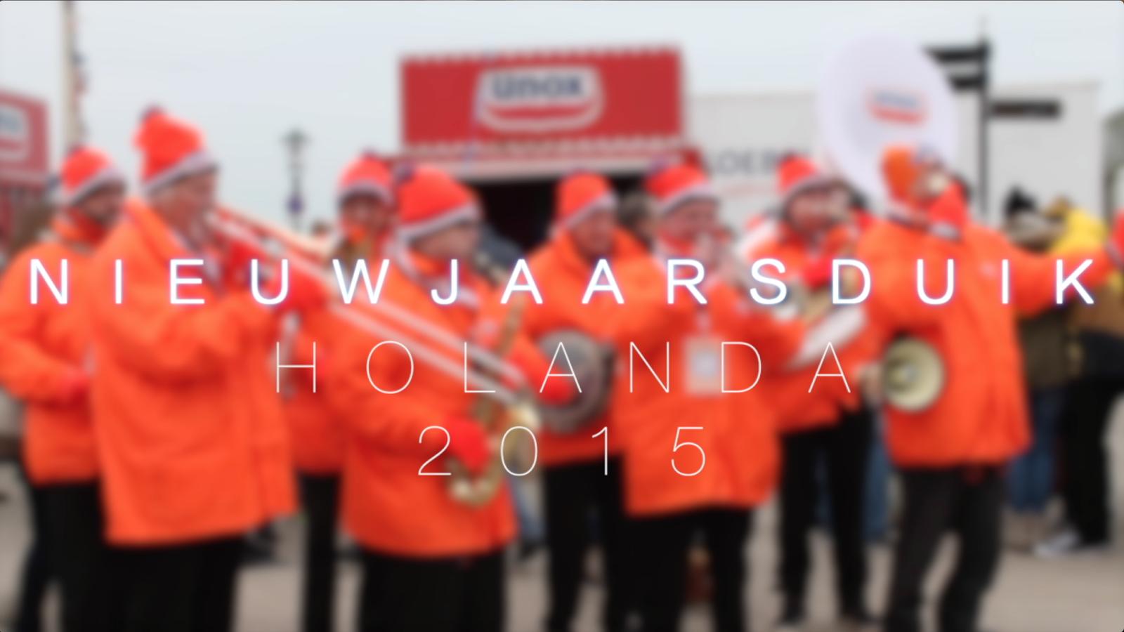 Vídeo Nieuwjaarsduik 2015