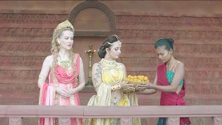 Karishma Tanna in Dance Reality Show in Spicy Choli Ghagra