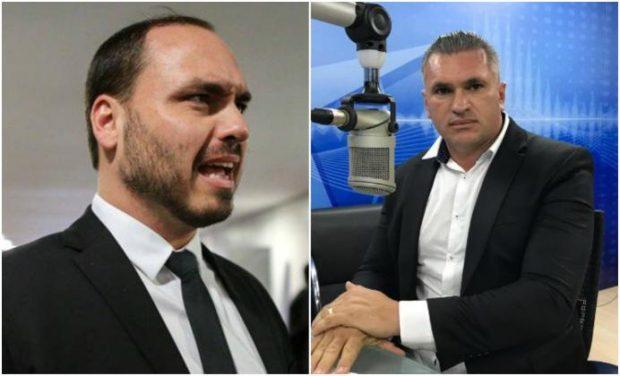 Filho de Bolsonaro desautoriza Julian Lemos como coordenador do pai no NE
