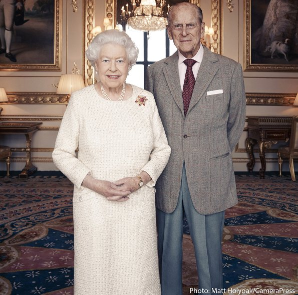 70th wedding anniversary of Britain's Queen Elizabeth II and Prince Philip. British photographer Matt Holyoak