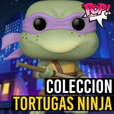 Lista de figuras Funko POP Tortugas Ninja