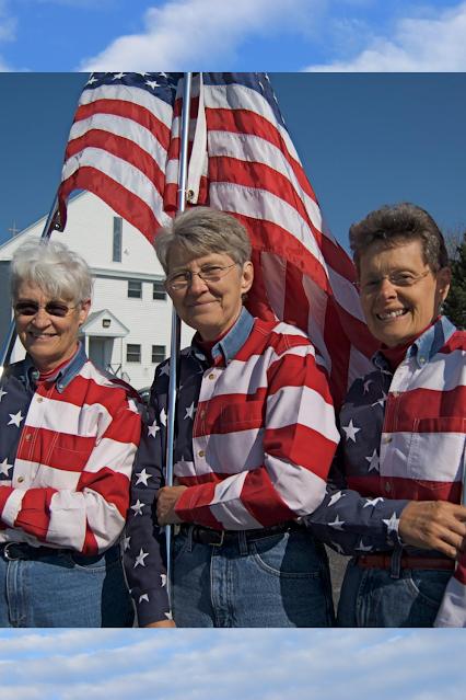 The Flag Ladies
