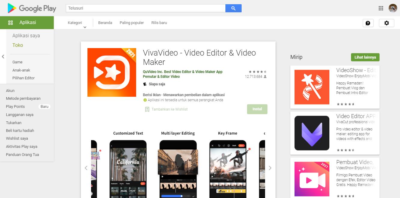 5 Aplikasi Edit Video Terbaik untuk Smartphone Android
