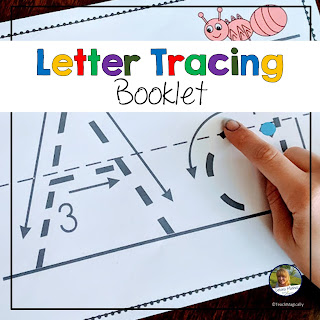Alphabet Tracing Booklet Teach Magically