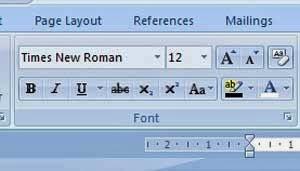 Cara Merubah Font Default di Microsoft Word 2007 2010