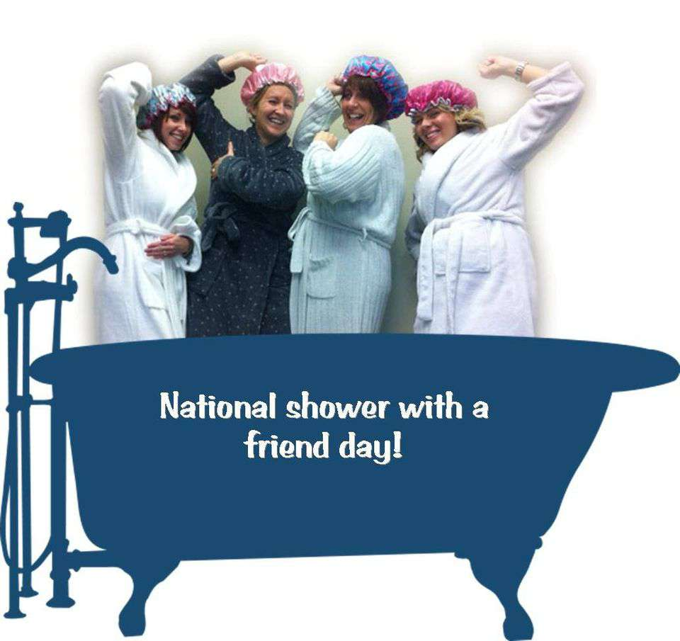 National Shower with a Friend Day Wishes Images