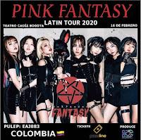 Concierto de PINK FANTASY en Bogotá