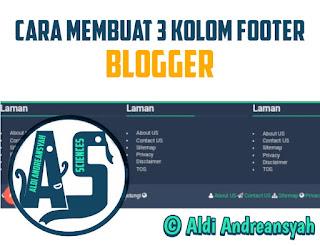 3 Kolom Footer Blog