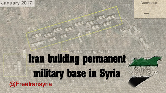 Iran building permanent military base in Syria