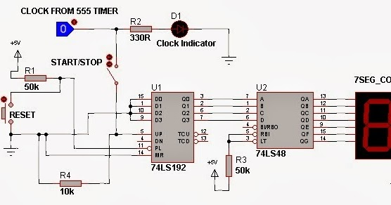 e-cracked Solutions: Digital Counter Display Circuit