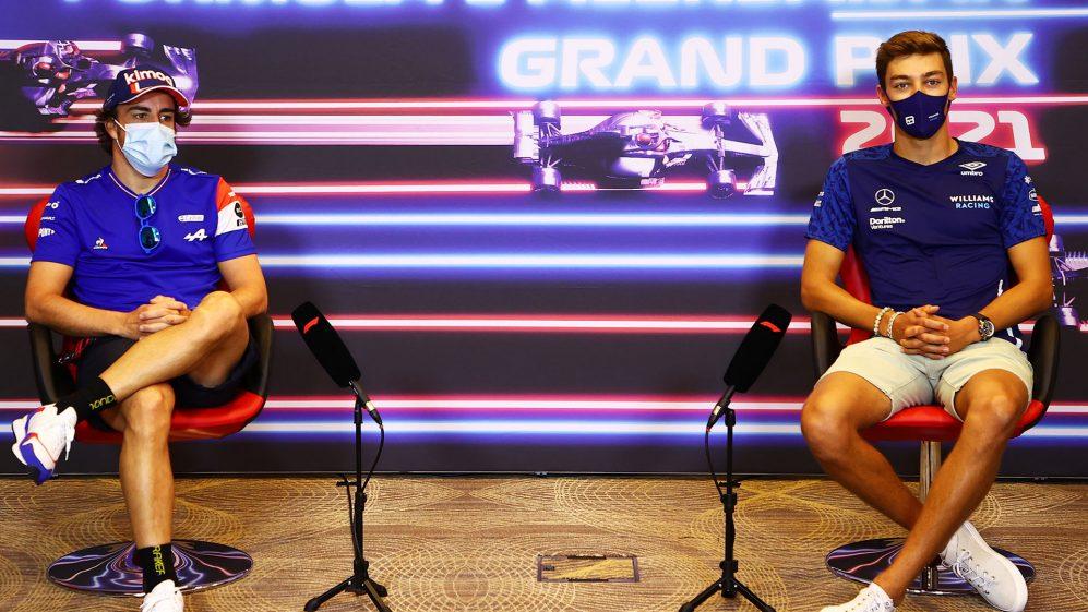 'Muito impressionante' Russell 'fazendo algo especial todo fim de semana', diz Alonso