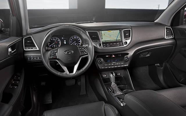 Hyundai New Tucson 2017 - interior - painel
