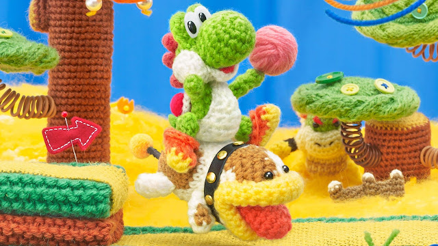 Poochy & Yoshi's Woolly World (3DS): assista a nove minutos do jogo