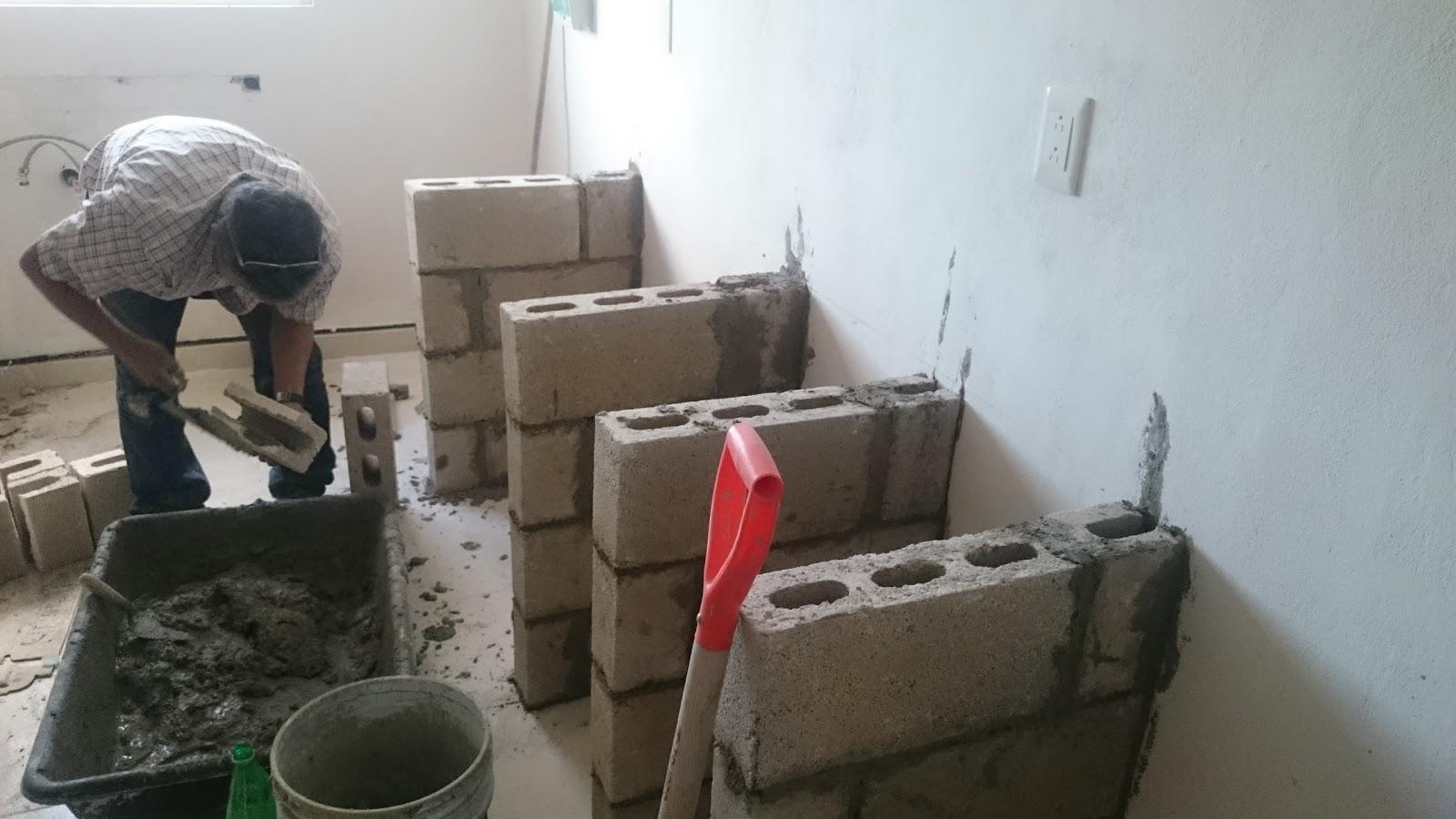 Mr Repara: Cocina en departamento con cubierta y muros de ...