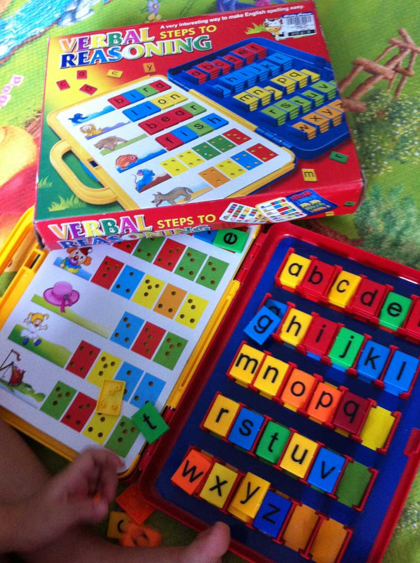Learn spelling from playing toy!   Learn The Fun Way