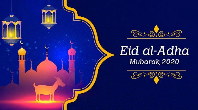 Eid al Adha Greeting Card 2021