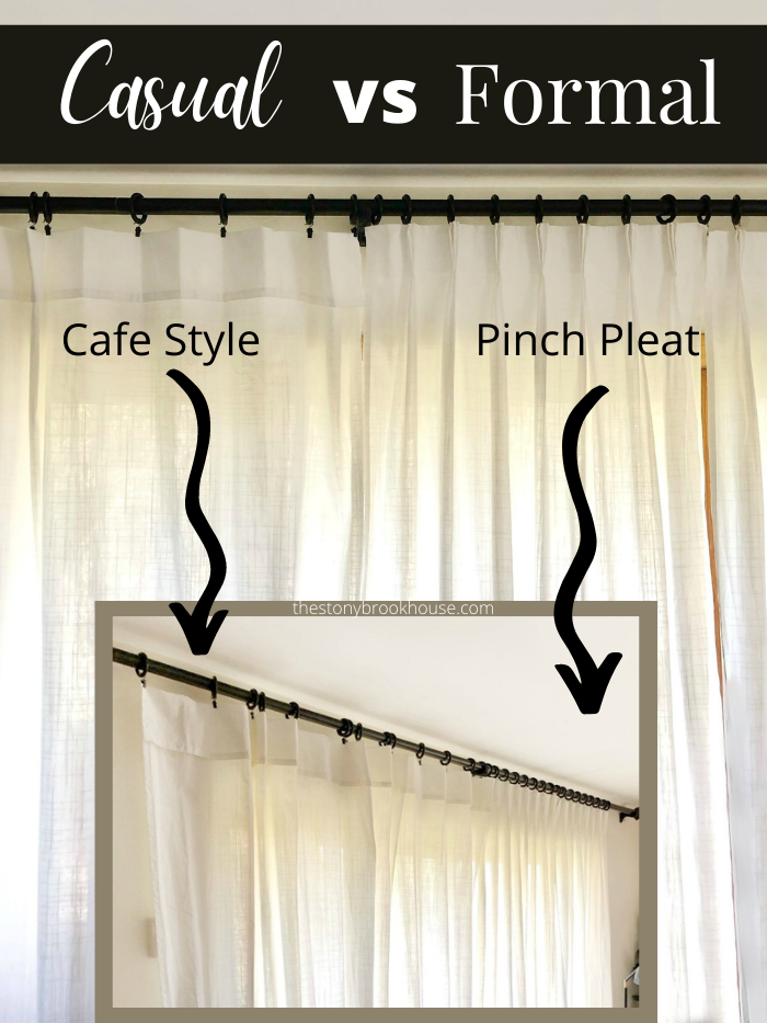 Casual vs. Formal Curtains