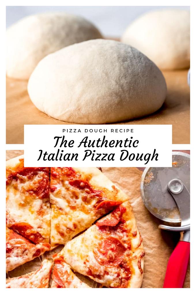 The Authentic Italian Pizza Dough