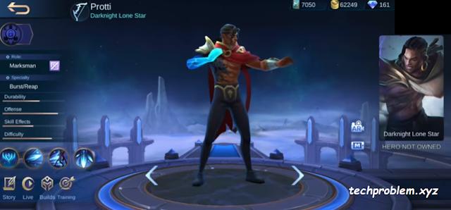 Hero Protti di Server ORI - Mobile Legends