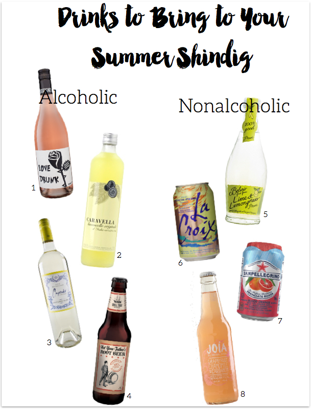 Summer Drink Guide - www.greysuede.com