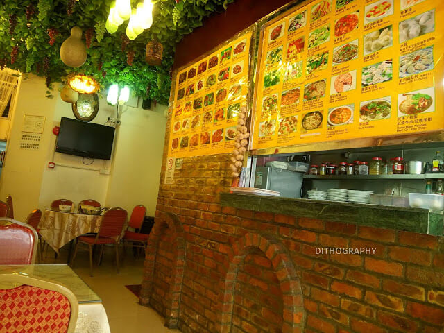 open kitchen di lou lang islam restaurant