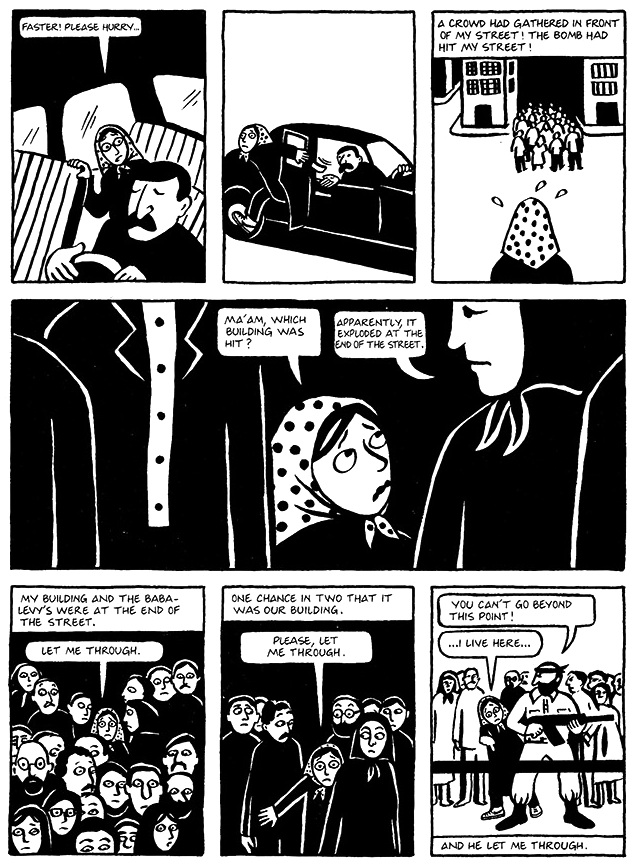 Read Persepolis 1 Section 18 The Shabbat Page 137