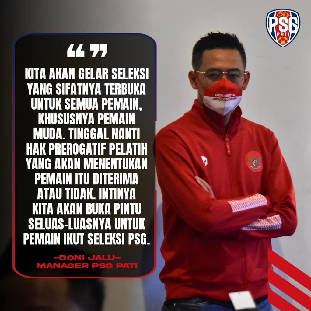 Soccerpedia Id Kolaborasi Dengan Bpl Psg Pati Buka Kesempatan Rekrut Pemain Amatir Untuk Liga 2