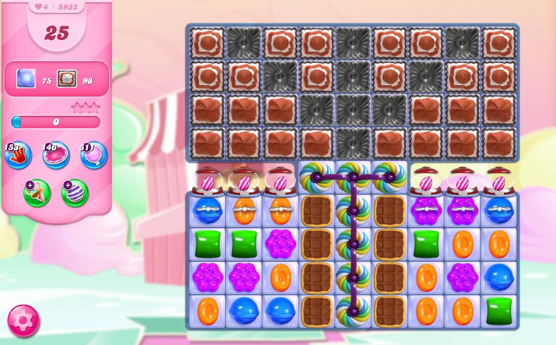 Candy Crush Saga level 5932