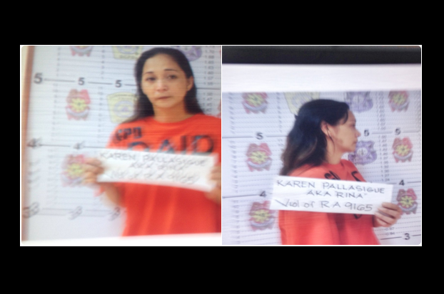 Ex-sexy star Sabrina M arrested in anti-illegal drug operation