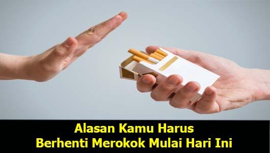 Alasan Kamu Harus Berhenti Merokok Mulai Hari Ini