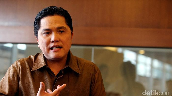 Erick Thohir Bantah Punya Akun Medsos Buat Jadi Presiden