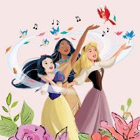Snow White sings with Aurora and Pocahontas