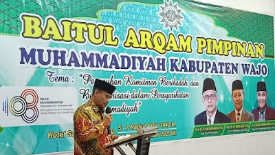 Hadiri Baitul Arqam, Sekda Wajo Harap Muhammadiyah Ambil Peran Wujudkan 10.000 Entrepreneurship