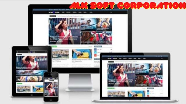 Newspaper 9 Premium Blogger Theme Free Download By ALK Soft Corporation