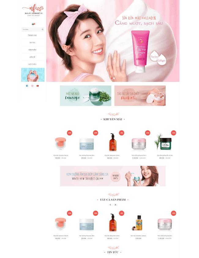 Template Shop Online Blogspot - Theme Blogger bán hàng miễn phí đẹp FREE DOWNLOAD