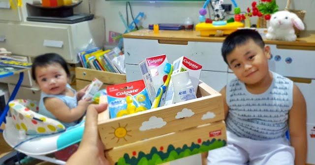 Give Your Kids that Colgate Smile! Trying the New Colgate Baby and Kids