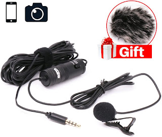 BOYA BY-M1 Lavalier Microphone for iPhone