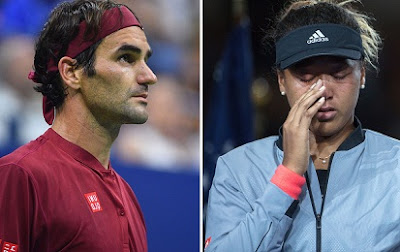 Roger Federer, Naomi Osaka withdraws from Italian open 2019 quarters with a serious injury.
