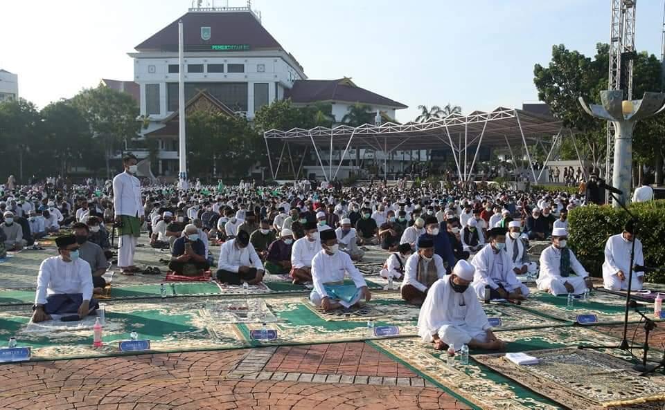 Salat Idul Fitri Berjamaah Diizinkan, Rudi Ajak Masyarakat Tetap Memperhatikan Protokol Kesehatan