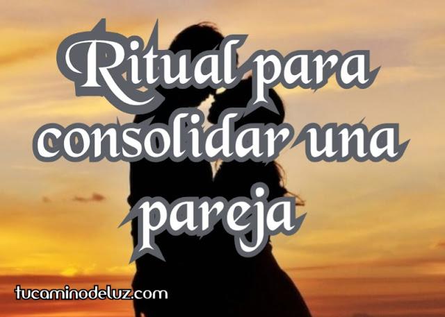 Ritual para consolidar una pareja