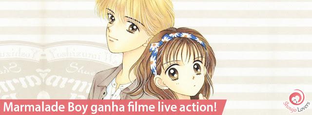 O mangá shoujo Marmalade Boy ganha filme live action!