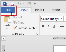 Membuat/membuka dokumen kosong baru