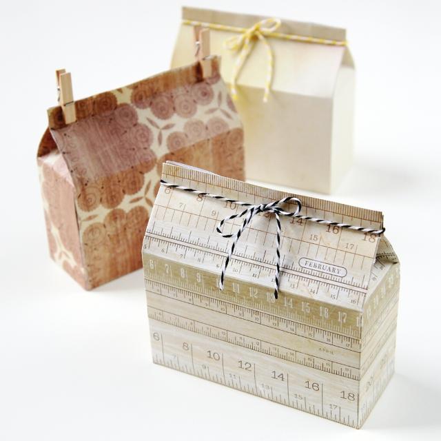 Diy Rectangle Milk Carton Boxes