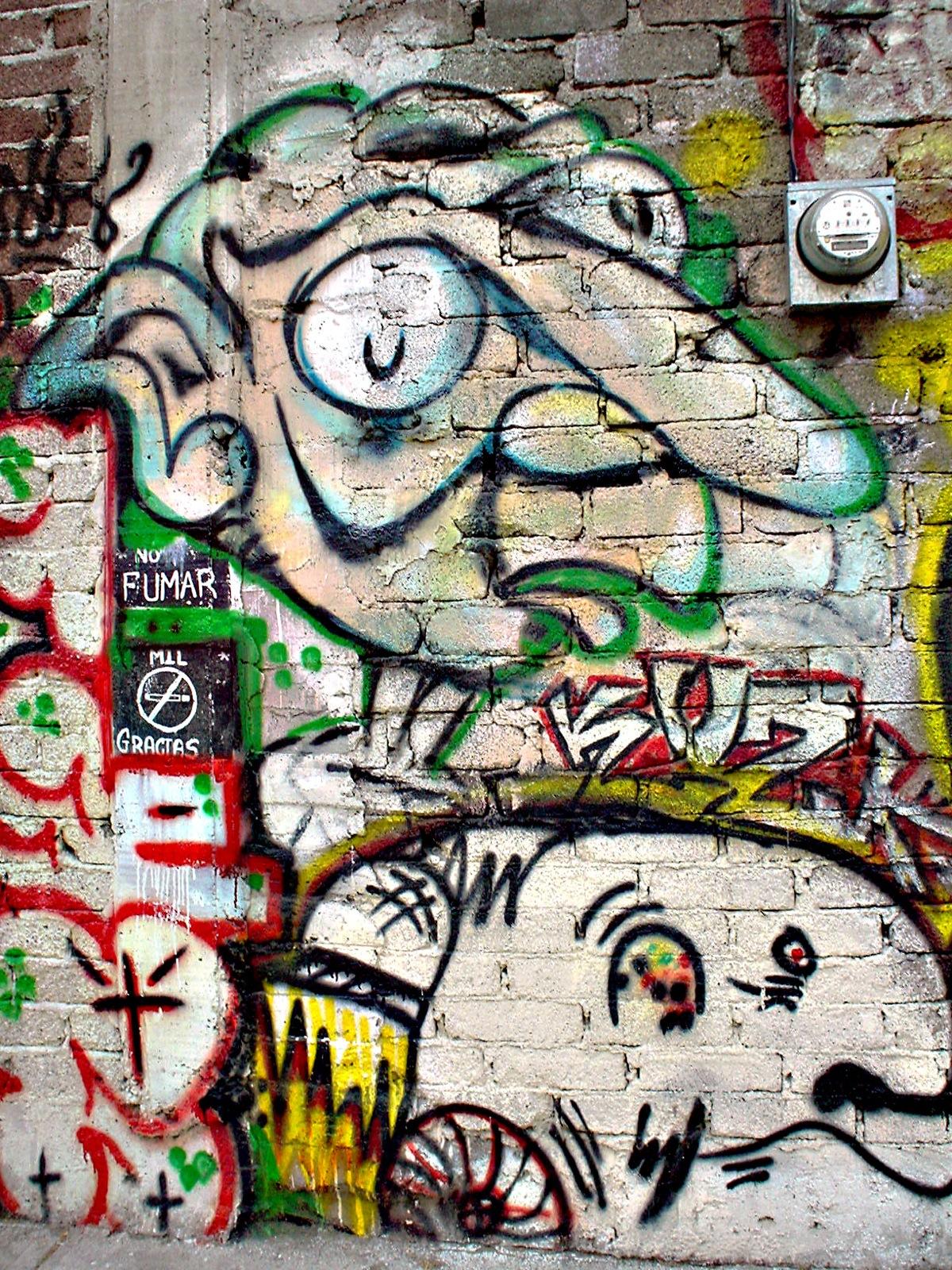 gaya terbaru 36 gambar grafiti keren souvenir unik