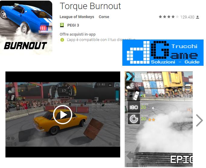 Trucchi Torque Burnout Mod Apk Android v1.8.71