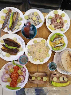 صور أكلة فسيخ لشم النسيم ، صور فسيخ ورنجة شم النسيم .