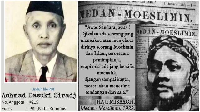 Fenomena Kyai-Haji Komunis, Ada Kyai Dasuki Siradj dan Haji Misbach