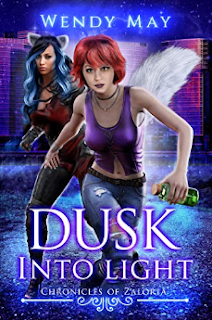 Urban Fantasy, Redhead female and a beautiful wolf shifter are ready to jump into action