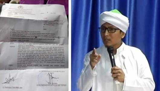 Ustaz Lancip Dipanggil Polisi Terkait Ceramahnya soal Aksi 22 Mei