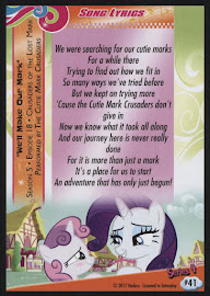 MLP We'll Make Our Mark Series 4 Trading Card